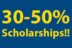 All students receive scholarships